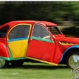 ๏~* Picasso fan converts his car into work of art on wheels *~๏